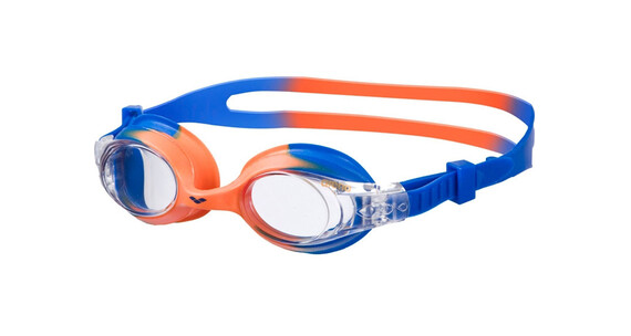 arena X-Lite Goggles Kids blue orange/clear